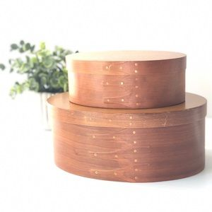 Crafted Boxes Vintage Oval Lid Box